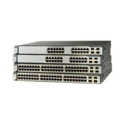 Cisco WS-C3750G-24PS-S Catalyst 3750G-24PS 24 Port POE Switch