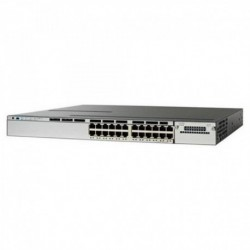 Cisco WS-C3750X-24P-S Catalyst 3750X 24 Port Poe Switch