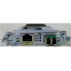 Cisco EHWIC-1GE-SFP-CU High-Speed WAN Interface Card