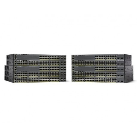 Cisco Catalyst WS-C2960X-24PS-L 24 Port Ethernet Switch