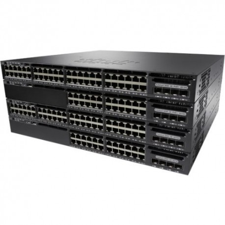 CISCO WS-C3650-48PS-S Layer 3 Switch