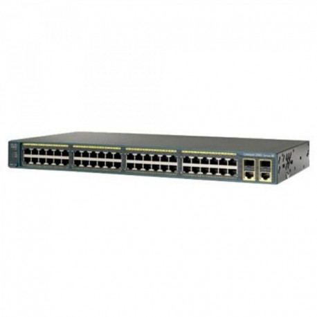Cisco WS-C2960S-48TS-S 2960 48 10/100/1000 Port Gigabit Switch