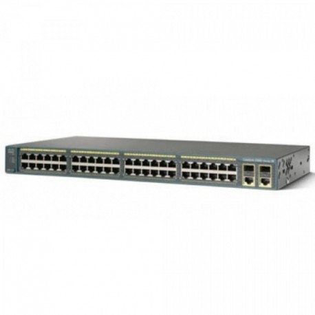 Cisco WS-C2960-48PST-L 2960 48-PORT 10/100MB Catalyst Switch