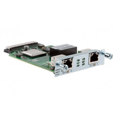 Cisco VWIC3-2MFT-T1/E1 2-Port T1/E1 Multiflex VWIC Card